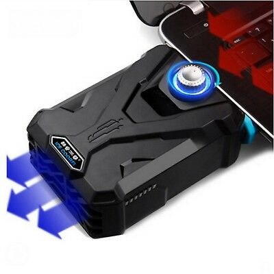EletecPro Laptop Cooler External Cooling Fans with Vacuum ,Air Heat Extracting