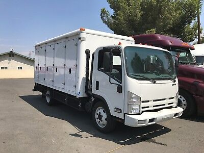 2012 ISUZU NPR Refrigerated Delivery Truck