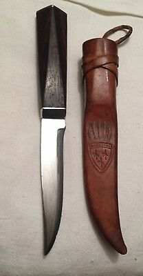 Norway Helle Knife High Carbon Edge 1970`s Norwegian