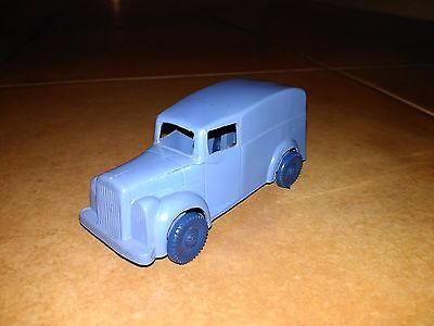 Rare Palitoy 1950 Plastic Toy Transport Lorry Van - Truck Made In England