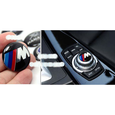 29mm Adesivo M Sport Bottone i Drive Controller logo Sticker Multimedia  BMW