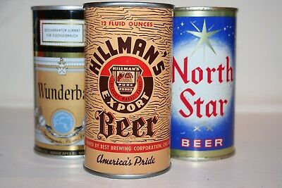 Hillman's Export Beer 12 oz flat top - Best Brewing Corp., Chicago, Illinois