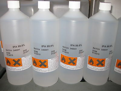 IPA Isopropyl Alcohol, Isopropanol- 1 x 1 LITRE Cans 99.9% ULTRA PURE