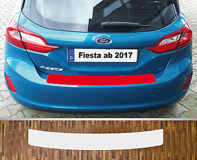 Clear Protective Foil Bumper Protection Transparent Ford Fiesta, from 2017
