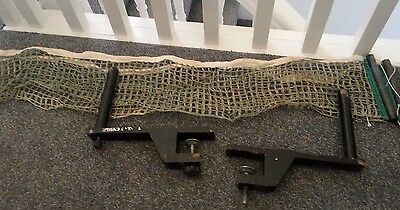 Vintage 1950/60s  Stiga Table Tennis Clamps and Net Set