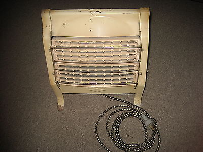 Antique Collectable Portable 'Stirling' Swan Brand Electric Heater