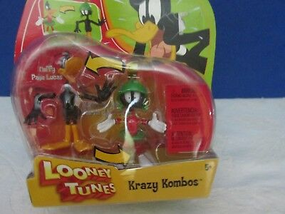 Looney Tunes Krazy Kombos Daffy and Marvin NEW IN PACKAGE 2003