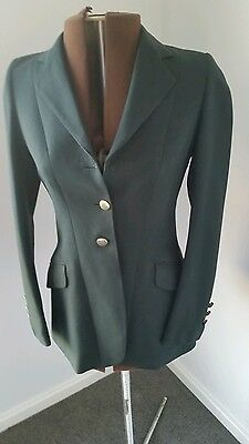 Ascot green riding jacket