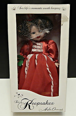 Marie Osmond Keepsakes Holiday Cheer Throughout the Year - Mint Collectible Doll