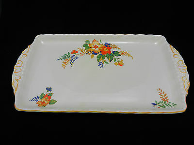 Grindley Lucille Sandwich Serving Tray / Plate / Made in England  - Vintage
