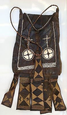 Tuareg Leather Bag North African Tribal