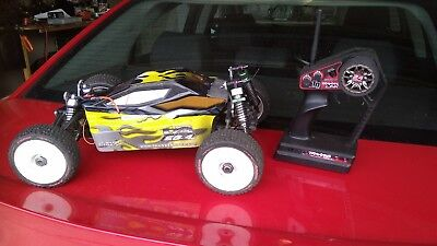 Thunder Tiger EB4 1/8 Scale with TRAXXAS 5 channel Radio