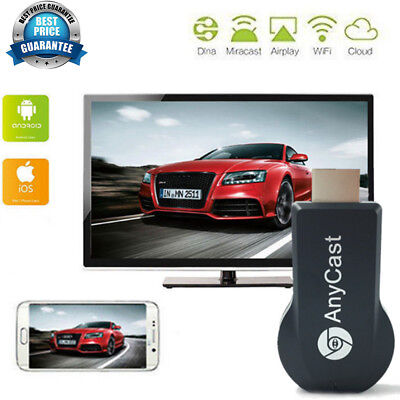 1080HD Mira Screen WiFi Display Dongle Receiver HDMI DLNA Airplay Android IOS