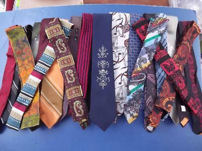 Vintage 1960s 1970s Neckties Lot Of 21 Including Fritz The Cat Tie Spencer Gifts