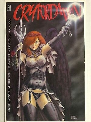 1990 CRY FOR DAWN # 3 1st Printing, Joseph Michael Linsner, Near Mint - (NM-)!