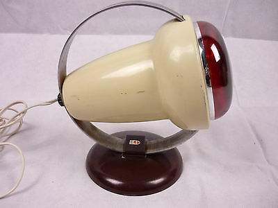 Vintage Retro Phillips Infraphil Heat Lamp with Bakelite base