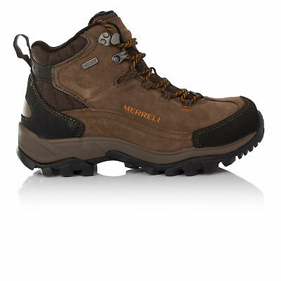 Merrell Norsehund Omega Mid Mens Brown Waterproof Walking Hiking Boots Shoes