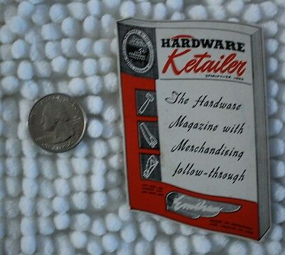 1952-53 Hardware Retailer Magazine Pocket Wallet Calendar
