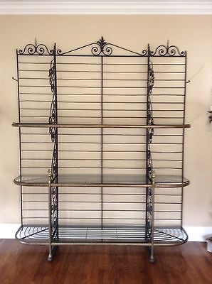Old French Bakers Rack