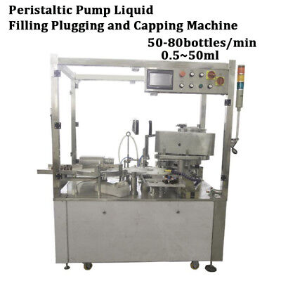 Automatic Bottle Filling and Capping Machine Filler Capper 0.5-50ml By Sea