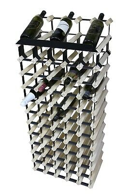 60 Bottle display Timber Wine Rack -100% Borders -Australian made