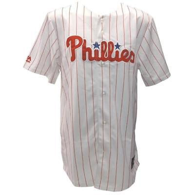 New Majestic Athletic Replica Jersey Philadelphia Phillies - White Pinstripe