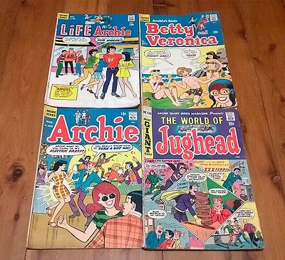 RARE Vintage Collectable Archie Comic Books Bulk Lot