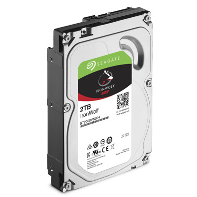 HARD DISK INTERNO 3,5 Seagate IronWolf 2TB SATA-6Gb 5900rpm 64MB ST2000VN004