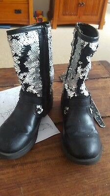 bottes fille taille 31