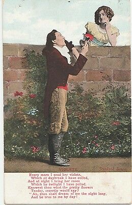 A picture postcard in clean condition with A Latrobe pictorial period cance