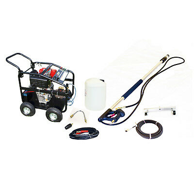 £15/WEEK on LEASE KM3600DXR Diesel Jet Washer Pack Patio Drain Roof Cleaning