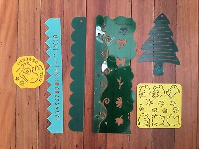 Creative Memories Mixed Templates And Other Stencils