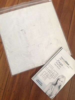 Creative Memories Templates pack of 4 and ideas book on layouts for these