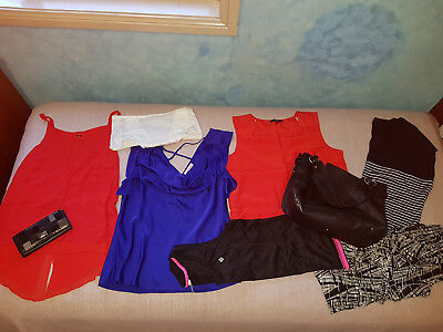 LADIES BULK CLOTHES SIZE 16, GREAT for CORPORATE or SMART WEAR, TOPS, WALLET BAG