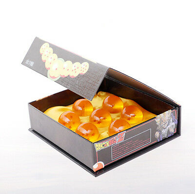 Original Box Anime Dragon Ball DragonBall Z Stereo Star Crystal 3.5cm Ball Set