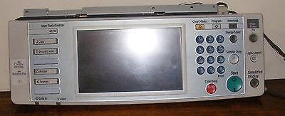 Ricoh Lanier MPC 2000 2500 3000 Complete LCD Screen Panel USED