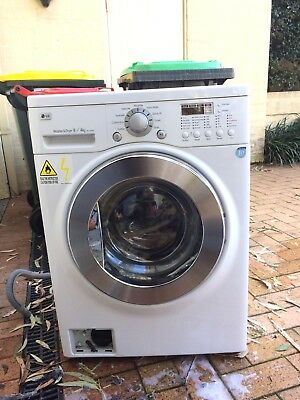 LG 8kg Washing Machine Front Loader As is Required Attention