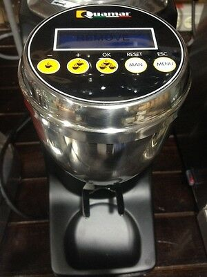 Quamar Q13 Conical Electronic Mat Black  Grinder uses Mazzer Robur conical burrs