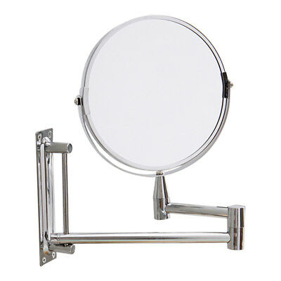 Bathroom Makeup Mirror 3X Magnifying Wall Mount Dual Sided 7 inch