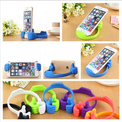 Universal Thumb Up Mobile Phone Stand Holder Bracket Mount for Smart Cell Phone