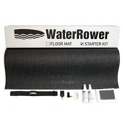 Waterrower Protective Accessory Starter Kit - Mat, Heart Rate Kit, Cleaning Kit