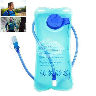 2L Hydration Bladder Bag Backpack Hiking Camping Water Reservoir Sports Cycling