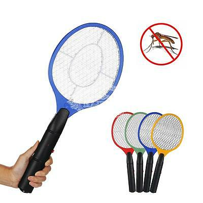 Electric Fly Insect Racket Zapper Killer Swatter Bug Mosquito Wasp Electronic