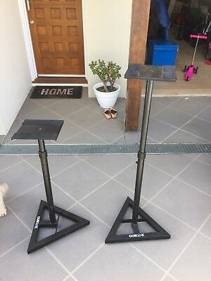 QuickLok Adjustable Speaker Stands (Set of 2)