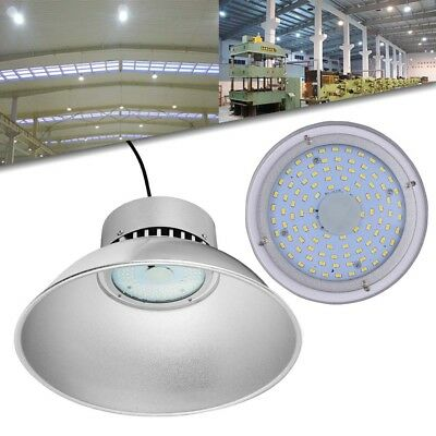 50W High Bay Light Warehouse Workshop Office LED Overhead Industrial Lighting