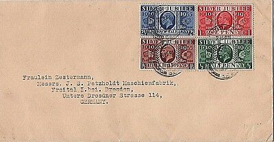 1935 KGV Silver Jubilee First Day Cover - Fine