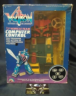 VOLTRON Vehicle Team Computer Control 1984 NEW MISB!