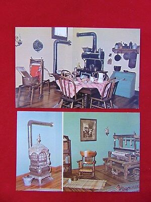 Vintage Lot Of 2 Hinckley, Minnesota Fire Museum Uncirculated Postcards