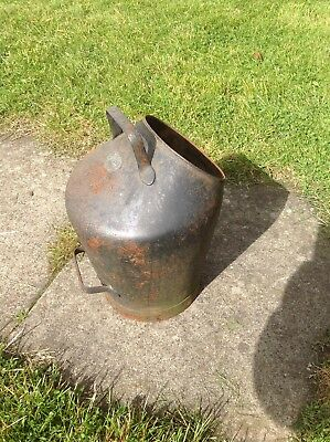 Vintage rare Lister of Dursley coal/coke scuttle