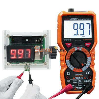 4-20ma Current Signal Generator Handheld Digital Analog Generator Rechargeable